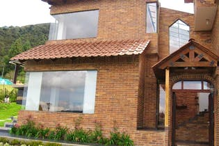 Casa Campestre en La Calera El Chuscal - vista panorámica, amplios espacios