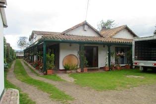 Casa En Venta En Cota Vereda Pueblo Viejo- 2 chimeneas