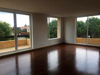 Una vista de una sala de estar desde una ventana en Apartamento En Chia Santa Ana con muy lindos acabados