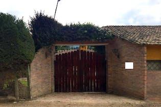 Casa Campestre En Tabio Rió Frió Oriental- 3 alcobas