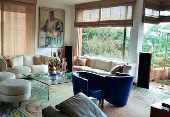 Apartamento en Los Rosales, Chico - 298mt, tres alcobas, chimenea