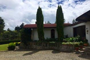 Casa Campestre En Tabio Rió Frió Oriental-3 alcobas-jardines-chimenea
