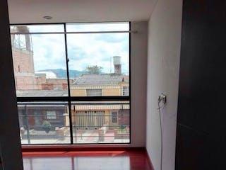 Una vista de una vista desde la ventana de un edificio en Apartamento En Venta Chia-Villa Paula, con 2 alcobas y un baño.