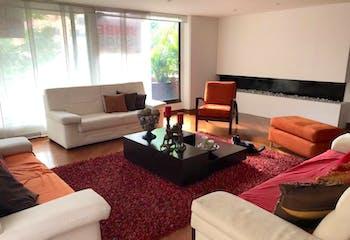 Apartamento en Bogota Santa Bibiana - con terraza que rodea el inmueble