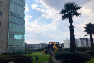 Departamento en venta en Santa Fe La Loma, 140 m² en fracc privado