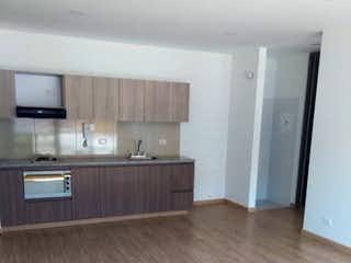 Una vista de una cocina desde el pasillo en Apartamento en venta en Santa Bárbara Oriental 47m² con Gimnasio...