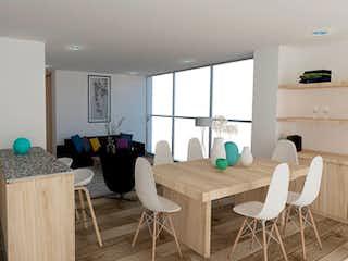 Una sala de estar llena de muebles y una mesa en Edificio 8