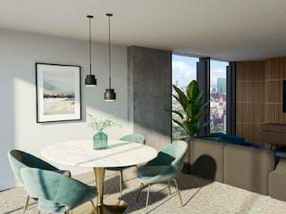 Una sala de estar llena de muebles y una televisión de pantalla plana en Salamanca 11