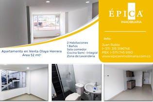 Apartamento en venta en Libertador Quiroga 52m²