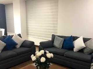 Una sala de estar llena de muebles y un sofá en Apartamento en Venta CEDRITOS