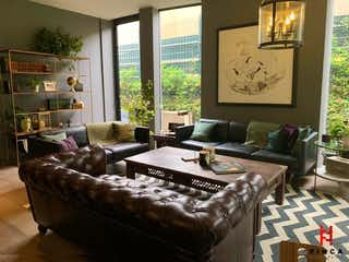 Una sala de estar llena de muebles y una gran ventana en Casa en venta en Cuevitas, de 500mtrs2