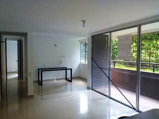 Una vista de una sala de estar y una sala de estar en Casa en venta en Parque, de 75mtrs2