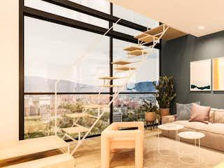 Una sala de estar llena de muebles y una ventana en Mood