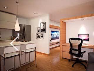 Una sala de estar llena de muebles y una televisión de pantalla plana en Venta de Apartamento Sabaneta Mayorca