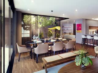Una sala de estar llena de muebles y una mesa en Nest 95