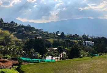 Lote En Alto de las Palmas-Envigado, con 4700 mt2.