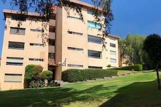 Departamento en venta en Tetelpan 80m2 con jardin
