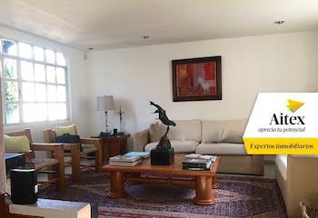 Casa de venta en Tlalpan,  275 m² con patio
