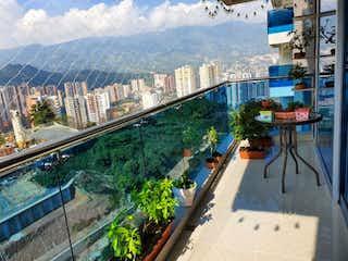 Una vista de una ciudad desde la parte trasera de un tren en Apartamento en venta en Las Lomitas de 3 hab. con Sky Club...