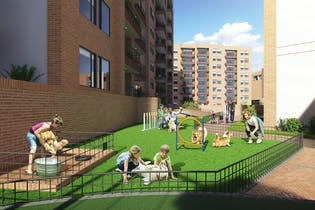 Proyecto de Vivienda, Verdemonte, Apartamentos en venta en Techo 69m²