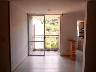 Una vista de una habitación con una puerta corredera de cristal en Apartamento en venta en El Salado, de 55mtrs2