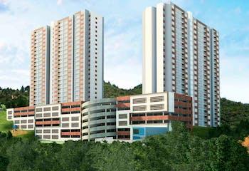 laureles del valle, Apartamento en venta en Las Chimeneas de 3 hab. con Bbq...