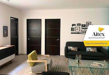 Departamento en venta en Cuauhtémoc, 88 m² con patio de servicio