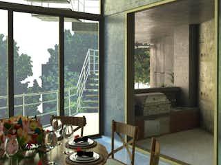 Una imagen de una sala de estar con un gran ventanal en Conjunto Residencial Lincoln