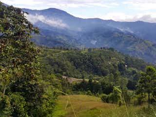 Una vista de una cordillera con árboles en el fondo en Vendo Lote el Escobero 4200 mts