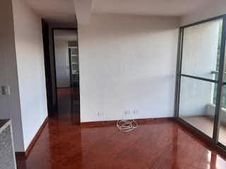 Un cuarto de baño con lavabo y ducha en Apartamento en venta en Loma de los Bernal, de 55mtrs2