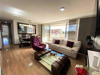 Una sala de estar llena de muebles y una televisión de pantalla plana en VENTA APARTAMENTO PARQUE RESIDENCIAL RESERVA DEL SOL