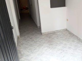 Una cama en una habitación con una puerta abierta en Apartamento en Venta SABANETA