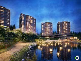 Una vista del horizonte de una ciudad en una ciudad en Apartamento en venta en Santa Ana de 3 hab. con Zonas húmedas...