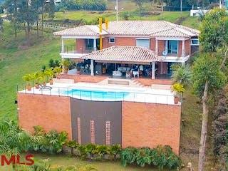 Palmeiras (Alto De Las Palmas), casa en venta en Alto de Las Palmas Indiana, Envigado
