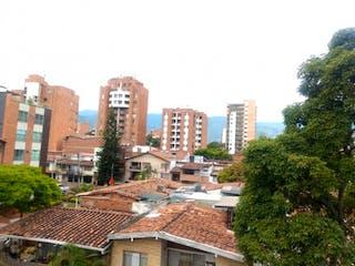 Una vista de una ciudad con edificios altos en el fondo en Venta de Apartaestudio Velódromo