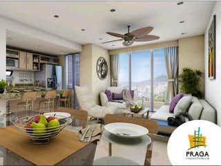 Una sala de estar llena de muebles y una ventana en Cesión derechos Aptos Proyecto Residencial Praga Marinilla