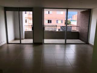 Una vista de una cocina con una puerta de cristal en Apartamento en venta en Belén Centro, de 95mtrs2