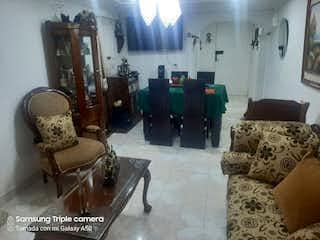 Una sala de estar llena de muebles y una chimenea en Apartamento en Venta SAN JAVIER