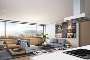 Vivienda nueva, Go Living & Suites, Apartamentos nuevos en venta en La Aguacatala con 2 hab.