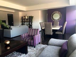 """Una sala de estar llena de muebles y una gran ventana en VENDO O RENTO DEPARTAMENTO """"EL YAQUI"""", CUAJIMALPA DE MORELOS"""