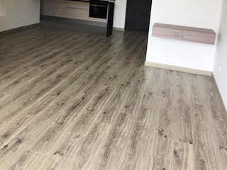Una vista de una cocina desde el pasillo en Apartamento en venta en Ándes Norte, 92mt