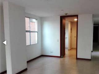Un cuarto de baño con dos lavabos y un espejo en Apartamento en venta en Zúñiga con acceso a Zonas húmedas