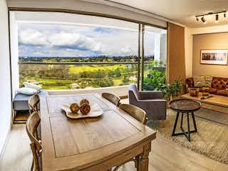 Una sala de estar llena de muebles y una gran ventana en Apartamento en Venta SAN ANTONIO DE PEREIRA