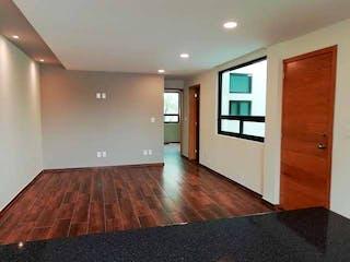 Una vista de una sala de estar y una sala de estar en DEPARTAMENTO NUEVO EN ASTURIAS