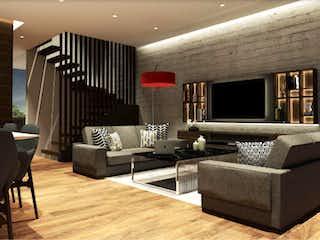 Una sala de estar llena de muebles y una televisión de pantalla plana en Antonio Noemi 42
