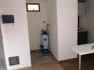 Un cuarto de baño con lavabo y ducha en Apartaestudio En Venta En Chia Caña Dulce