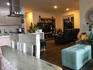 Una sala de estar llena de muebles y una televisión de pantalla plana en Apartamento en venta en La Abadía de 140m² con Bbq...