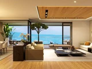 Una vista de una sala de estar y una sala de estar en Venta de apartamento en El Poblado