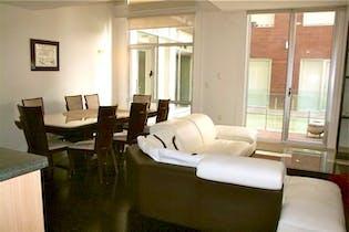 Departamento en venta en Cuauhtémoc, 110 m² en dos niveles