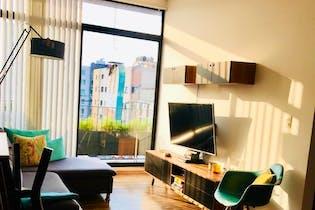 Departamento en venta en Narvarte Poniente, 98 m² con roof garden común